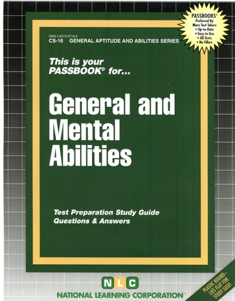GENERAL AND MENTAL ABILITIES