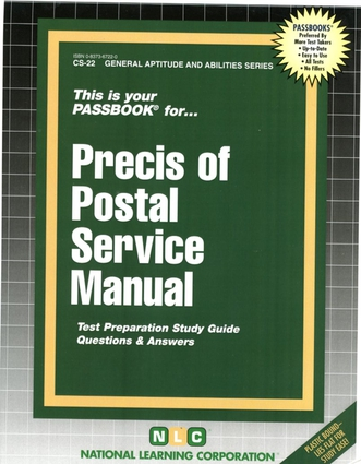 PRECIS OF POSTAL SERVICE MANUAL