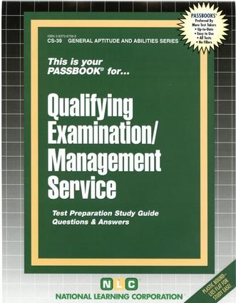 QUALIFYING EXAMINATION / MANAGEMENT SERVICE