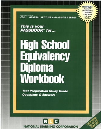 HIGH SCHOOL EQUIVALENCY DIPLOMA WORKBOOK
