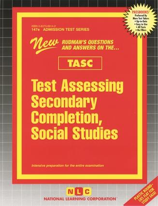 Test Assessing Secondary Completion (TASC), Social Studies