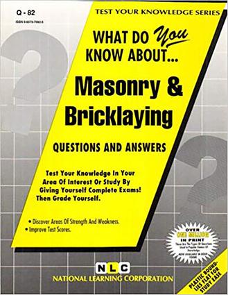 MASONRY & BRICKLAYING