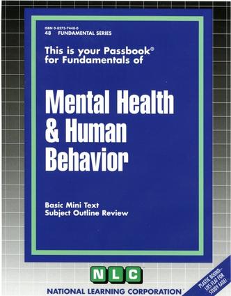 MENTAL HEALTH & HUMAN BEHAVIOR