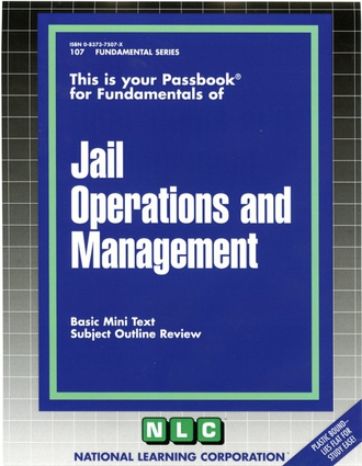 JAIL OPERATIONS AND MANAGEMENT