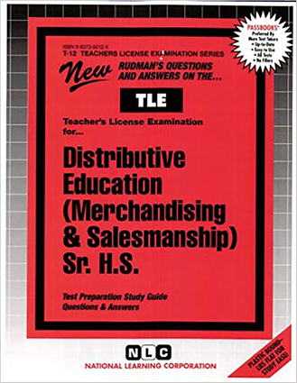 Distributive Education (Merchandising & Salesmanship), Sr. H.S.