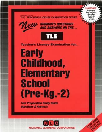 Early Childhood, Elementary School (Pre-Kg.-2)