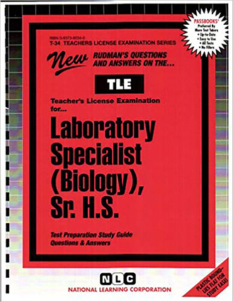 Laboratory Specialist (Biology), Sr. H.S.