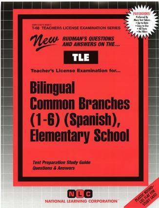 Bilingual Common Branches (1-6) (Spanish), Elementary School
