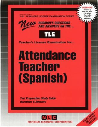 Attendance Teacher (Spanish)