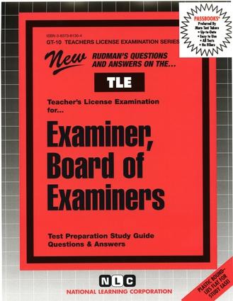 Examiner, Board of Examiners