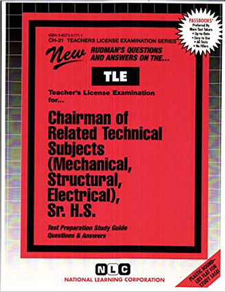 Related Technical Subjects (Mechanical, Structural, Electrical), Sr. H.S.