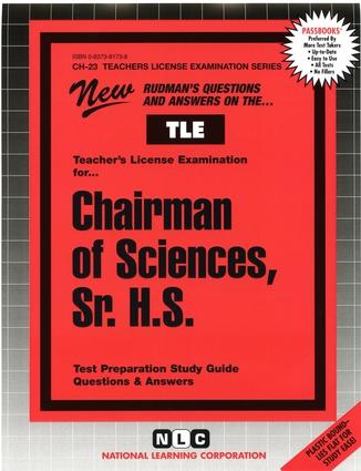 Sciences, Sr. H.S.