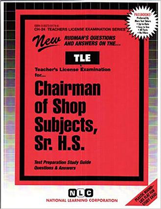 Shop Subjects, Sr. H.S.
