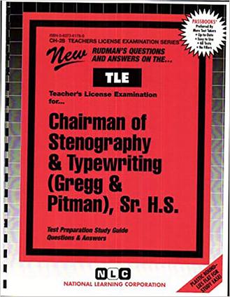 Stenography & Typewriting (Gregg & Pitman), Sr. H.S.