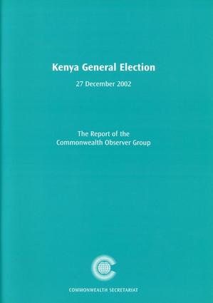 Kenya General Election, 27 December 2002