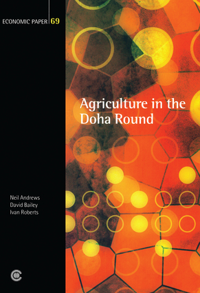 Agriculture in the Doha Round