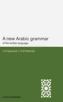 A New Arabic Grammar of the Written Language