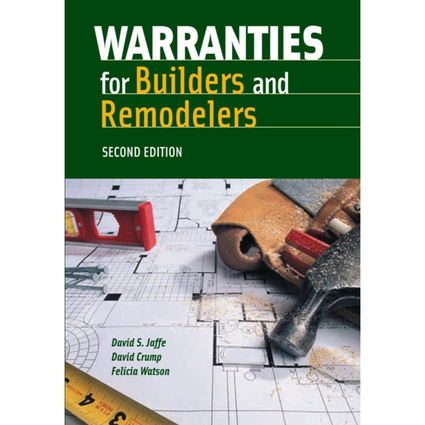 Warranties For Builders & Remodelers