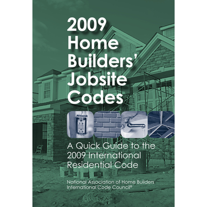 2009 Home Builders' Jobsite Codes