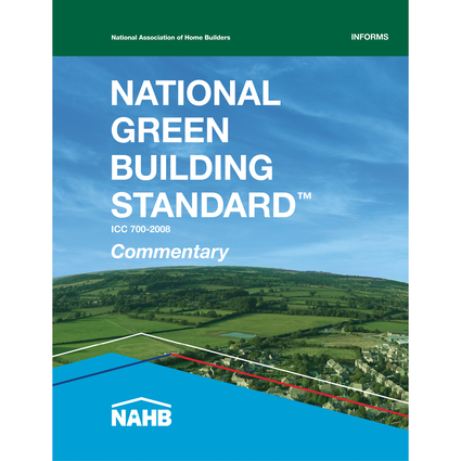 National Green Building Standard Commentary