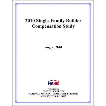 2010 Single-Family Compensation Study
