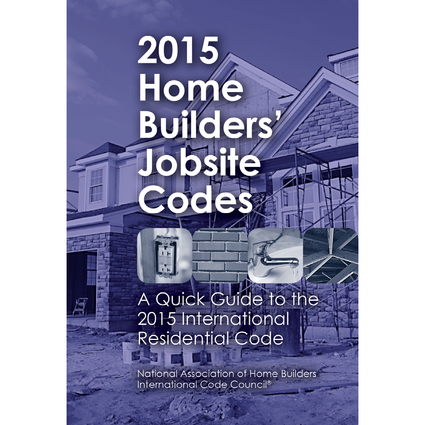 2015 Home Builders' Jobsite Codes