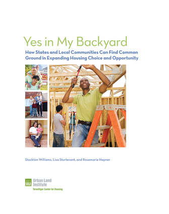 Yes in My Backyard: How States and Cities Can Find Common Ground in Expanding Housing Choice and Opportunity