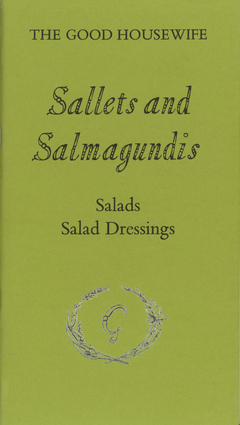 Sallets and Salmagundis