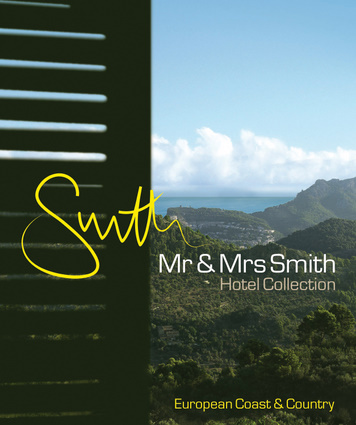 Mr & Mrs Smith Hotel Collection: European Coast & Country
