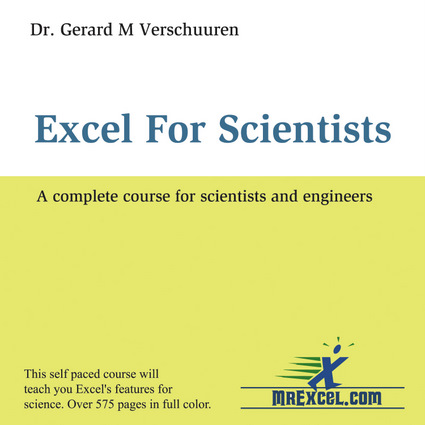Excel for Scientists