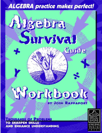 Algebra Survival Guide Workbook