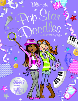 Ultimate Pop Star Doodles with Pattern Pages