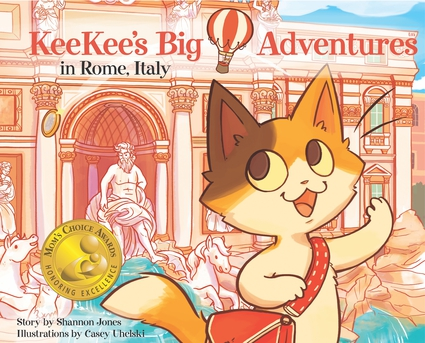 KeeKee's Big Adventures in Rome, Italy