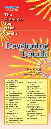 Developing Details