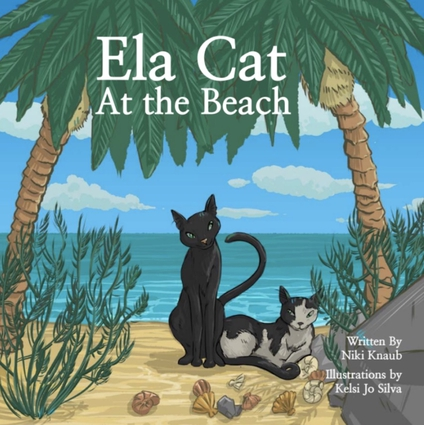 Ela Cat At The Beach