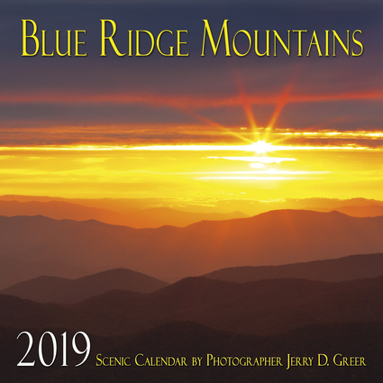 2019 Blue Ridge Mountains Scenic Wall Calendar