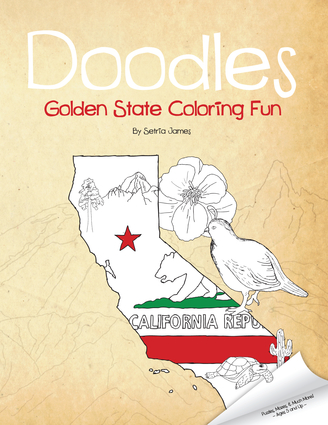 Doodles Golden State Coloring Fun