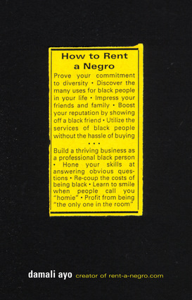 How to Rent a Negro