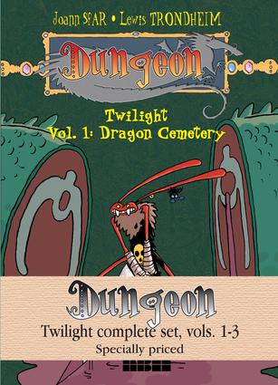 Dungeon: Twilight Complete Set, Vols. 1–3