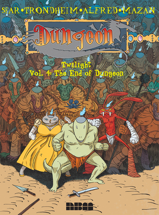 Dungeon: Twilight – Vol. 4: The End of Dungeon