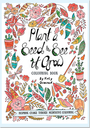 Plant a Seed & See it Grow Coloring Book