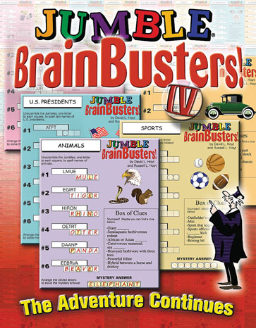 Jumble® BrainBusters! IV