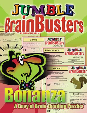 Jumble® BrainBusters™ Bonanza