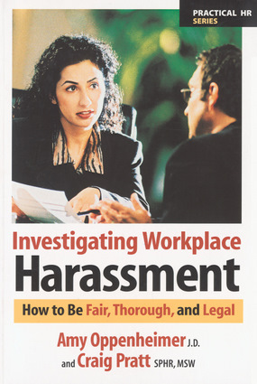 Investigating Workplace Harassment