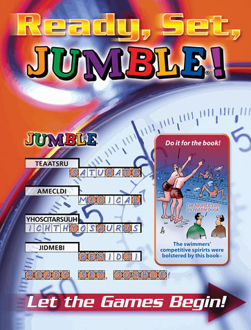 Ready, Set, Jumble®!