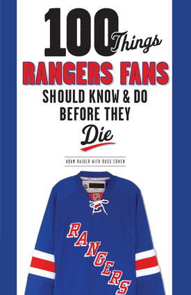 100 Things NY Rangers