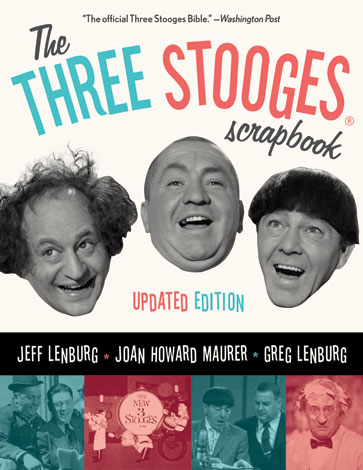 Three Stooges Scrapbook, 1982 First Edition