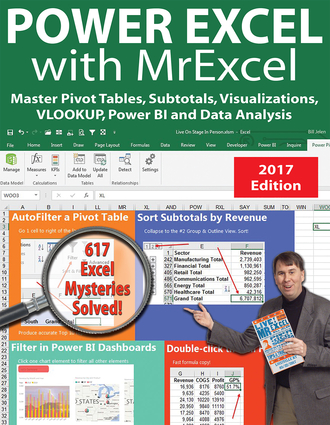 Power Excel 2016 with MrExcel