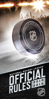 2015–2016 Official Rules of the NHL