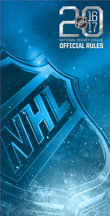 2016–2017 Official Rules of the NHL